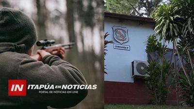 CAZADOR FALLECE TRAS DISPARARSE ACCIDENTALMENTE CON SU RIFLE EN ALTO VERÁ.