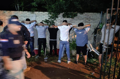 Crónica / Farra criminal ¡Toditos tenían antecedentes!