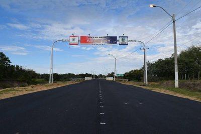 Histórico: culmina asfaltado de ruta y Yabebyry dice adiós a décadas de aislamiento