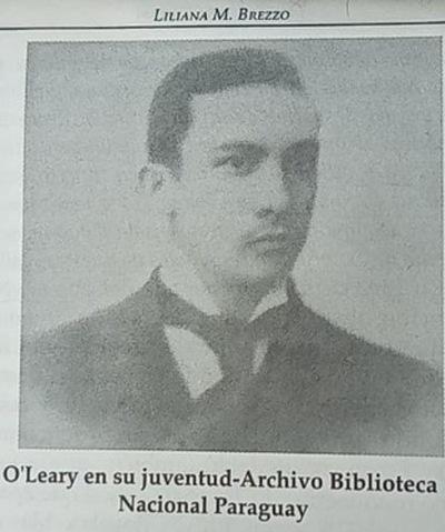 O'Leary, autor (del poema) del Mariscal