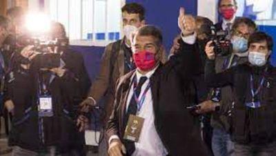 """Presidente del Barcelona anuncia """"un proceso de renovación"""""""
