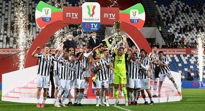 La Juventus gana la Copa Italia en medio de las críticas a Andrea Pirlo
