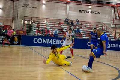 Cerro fue goleado por un equipo venezolano y se despidió de la Libertadores de Futsal