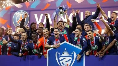 PSG se consuela con la Copa de Francia