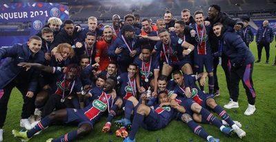 El PSG ahoga las penas coronándose en la Copa de Francia por 14ª vez en su historia