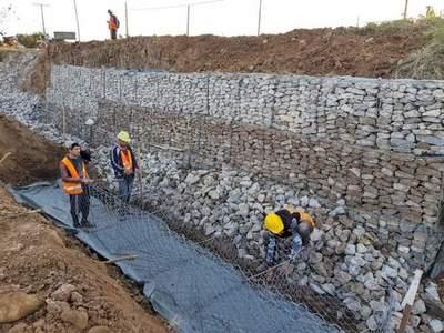 Defensa Costera de Pilar: mejoran y refuerzan puente en zona del arroyo San Lorenzo