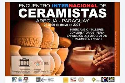 Areguá, Ciudad Creativa, recibe el Encuentro Internacional de Ceramistas