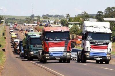 Dinatran se reunirá con camioneros para llegar a una acuerdo ante paro nacional anunciado
