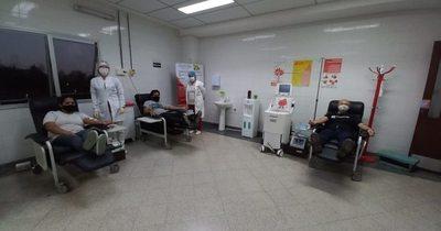 La Nación / Garantizan donación segura de sangre e instan a salvar vidas