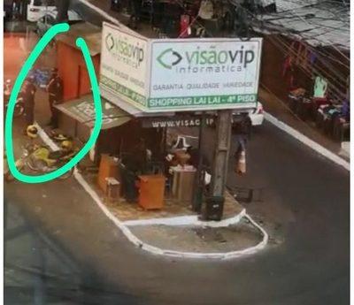 """¿Asalto a cambista esteño con """"cobertura"""" policial? (video)"""