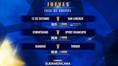 Se cierra la penúltima jornada de la fase de grupos de la Sudamericana