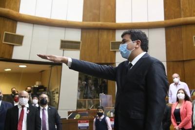 Carlos Noguera asumió su banca en Diputados en vez de Portillo