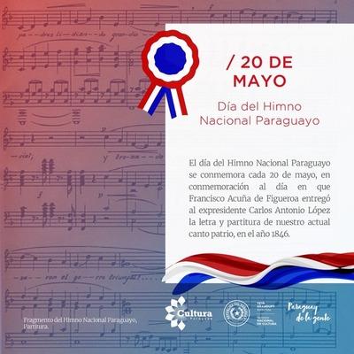 """En programa La Sinfónica Contigo"""" se rendirá homenaje al Himno Nacional paraguayo por su día"""