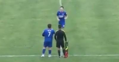 Revelan video del debut del joven de 126 kilos que es hijo de un millonario chino dueño de un club de fútbol