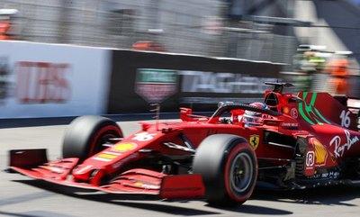 Ferrari y Red Bull muestran garras en las libres de Mónaco