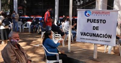 La Nación / Terminaron vacunas contra el COVID-19 y CDE quedó como único local de inmunizacion en Alto Paraná