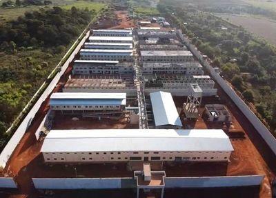 Obras en nuevo centro penitenciario de Minga Guazú llega al 80%