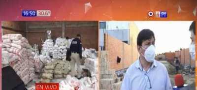 Limpio: Decomisan 35 toneladas de azúcar de supuesto contrabando