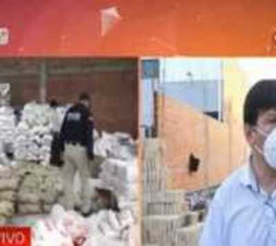 Presunto contrabando: Incautan 35 toneladas de azúcar