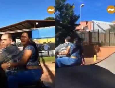 Disponen la detención del hombre que presuntamente agredió a una mujer a bordo de una motocicleta