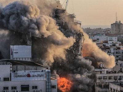 Israel y el grupo terrorista Hamas detuvieron los bombardeos tras acordar un alto el fuego