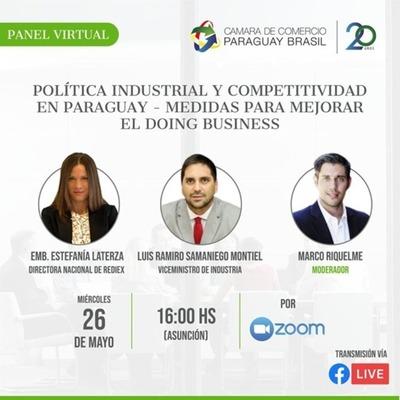 Invitan a panel virtual sobre medidas para mejorar la capacidad de hacer negocios