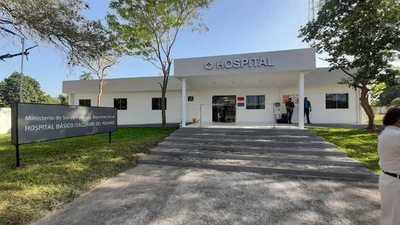 Roban balones de oxígeno de Hospital de Itacurubí del Rosario