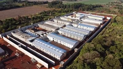 Nuevo centro penitenciario de Minga Guazú alcanza 80% de avance general