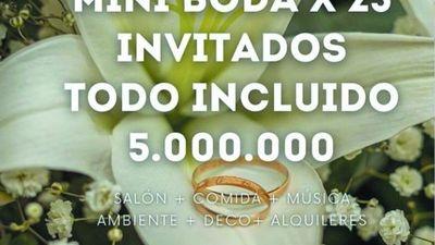 El rollo se prende a las bodas por 5 millones