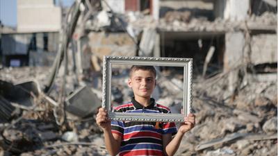 Nacer y vivir en Gaza