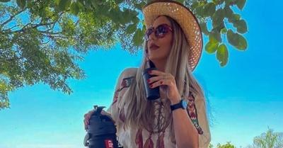 Las reveladoras fotos de Clara Franco
