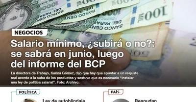 La Nación / LN PM: Las noticias más relevantes de la siesta del 21 de mayo