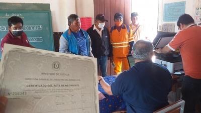 Jornada de servicios y asistencia a comunidad indígena del Chaco
