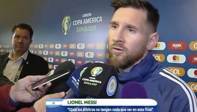 «Esta Copa América está armada para Brasil»
