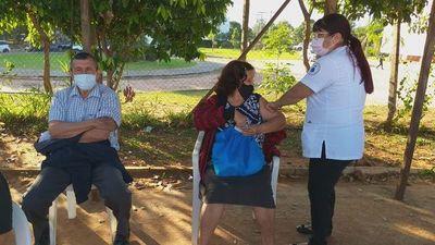 COVID: Fin de semana no vacunarán en Luque