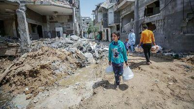 """La tregua sigue en Gaza y Biden apuesta """"por dos estados"""""""