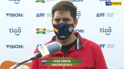 Palabras de José Arrúa, entrenador de Trinidense