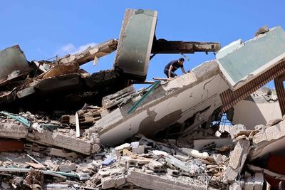 La bloqueada Franja de Gaza, forzada a reconstruirse una y otra vez