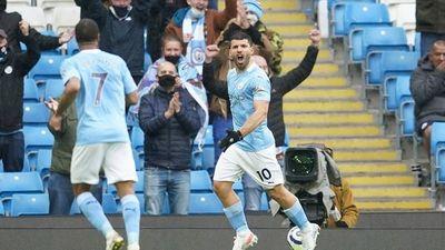 Sergio Agüero se despide del Manchester City con honores