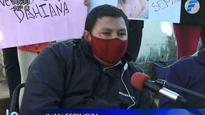 Padre de Dahiana Espinoza pide a la Fiscalía investigar a carnicero