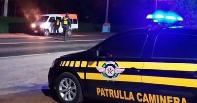 La Nación / Caminera: 234 ebrios detectados al volante en rutas