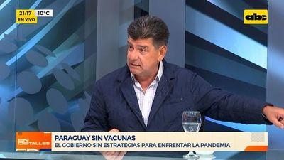 """Efraín Alegre: """"somos un país rico, pero con gobernantes ladrones que se llevan el dinero"""""""