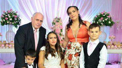 La celebración de  Nicole  del Carmen