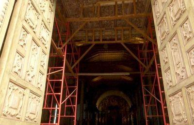 La histórica iglesia de Yaguarón necesita una urgente restauración