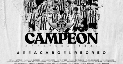 Libertad conquistó su estrella 21 y es el dueño del Apertura 2021