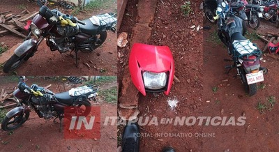 MOTOCICLISTA FALLECE TRAS ACCIDENTE EN HOHENAU.