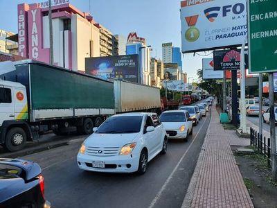 MIPYMES de Alto Paraná se suman a protesta de camioneros