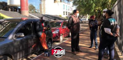 Drivers de plataformas también protestan por suba de combustibles