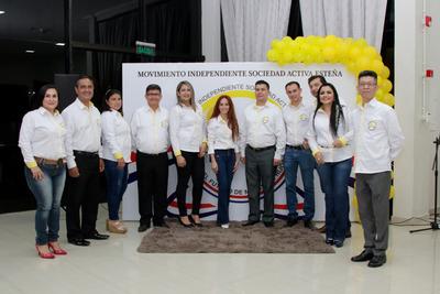 Movimiento Sociedad Activa Esteña lanzó sus candidaturas