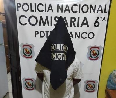 Detienen a un sujeto por violencia doméstica en Franco